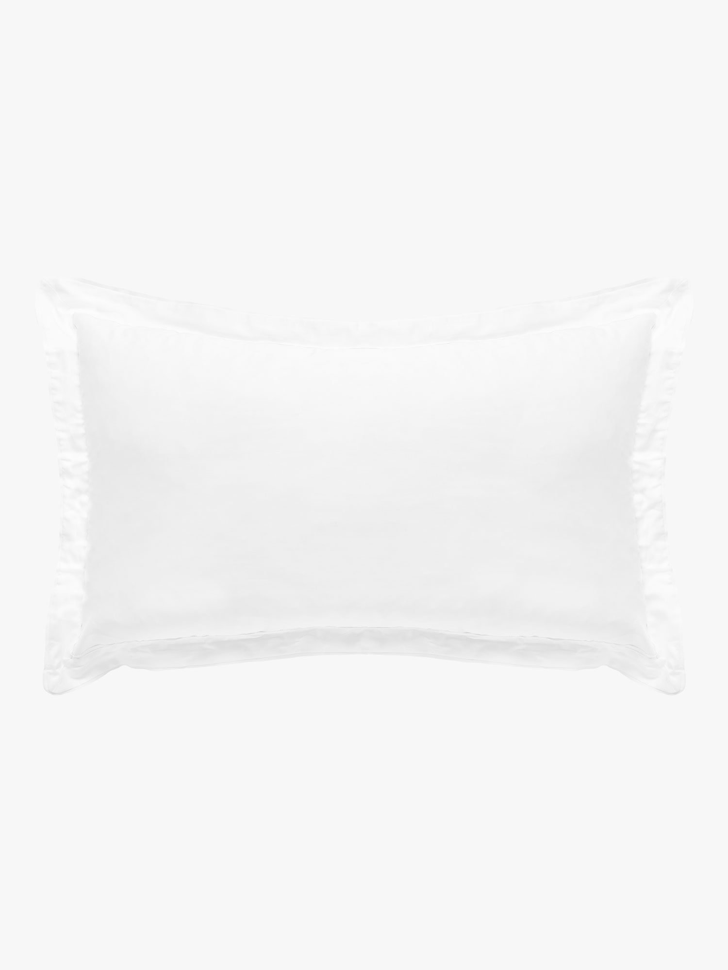 Grosgrain White Pillowcases Pillowcase L&M Home Tailored (Pair)