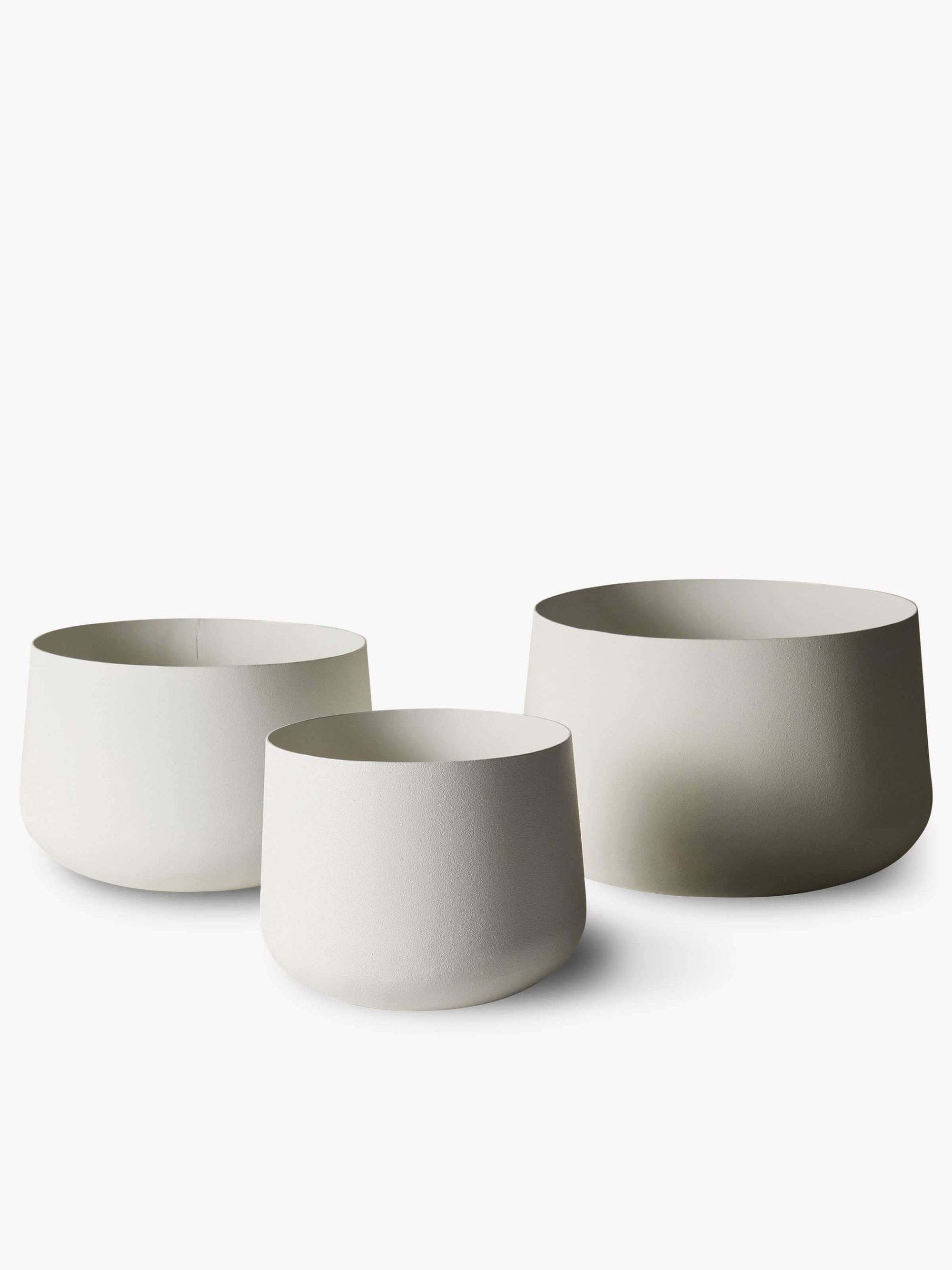 Mona Pot Trio - Chalk Planter 2020