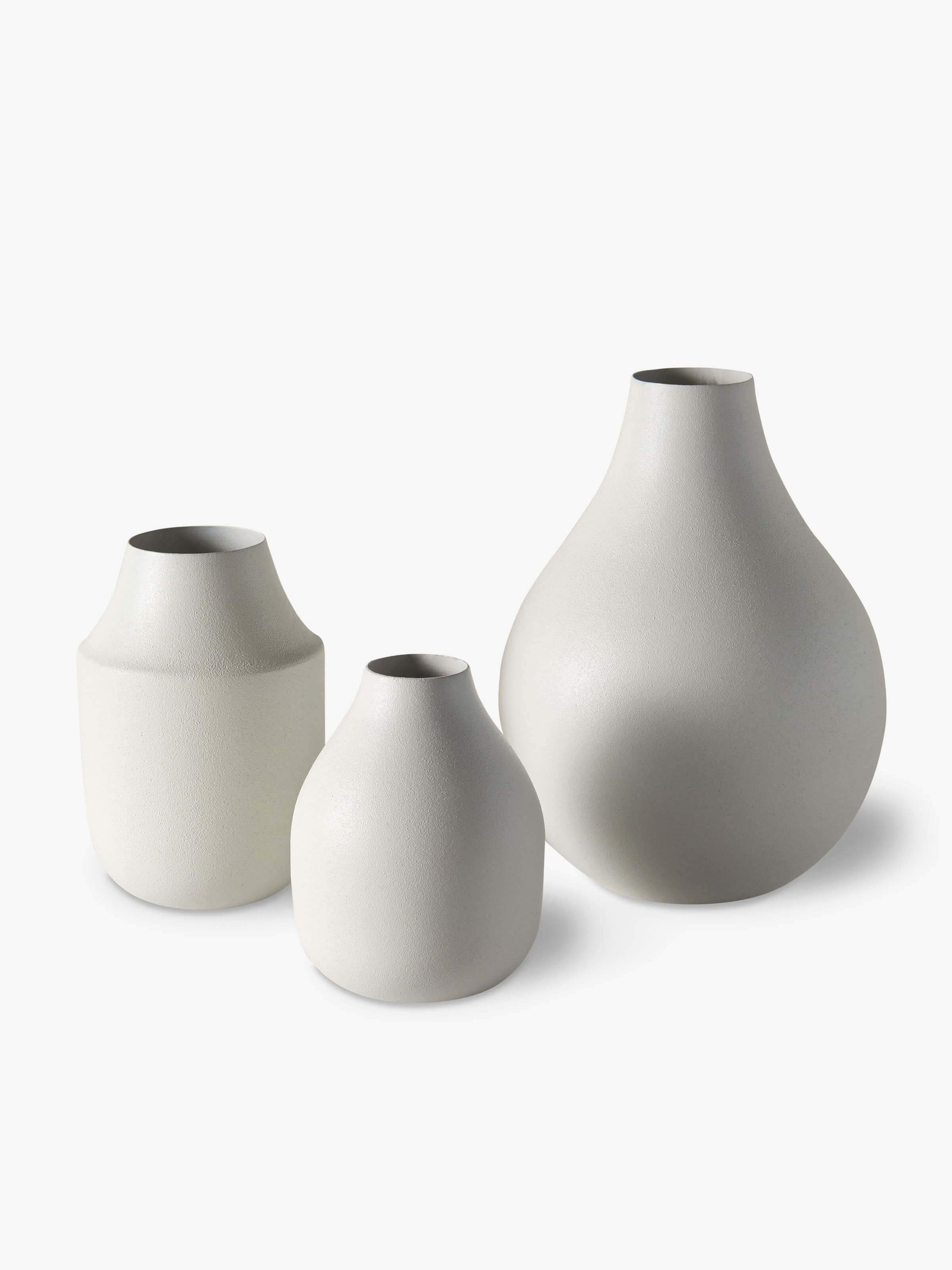 Mona Trio of Vases - Chalk Vase 2020