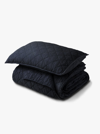 Soho Quilt - Navy Quilt AW18 Single/Double