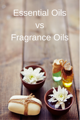 The difference between Essential and Fragrance Oils