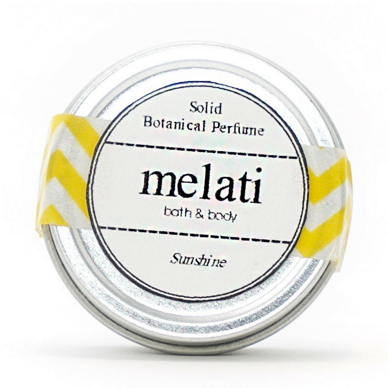 Sunshine Solid Botanical Perfume - Melati Bath and Body