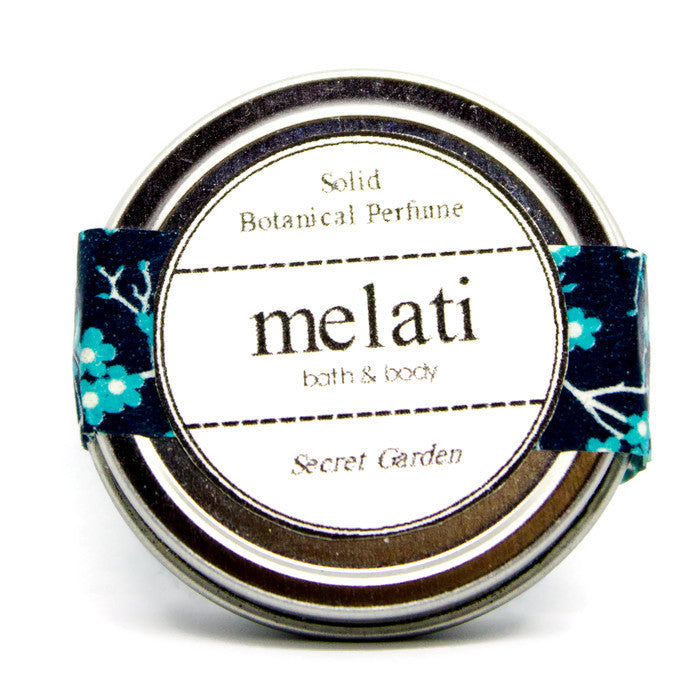 Secret Garden Solid Botanical Perfume - Melati Bath and Body