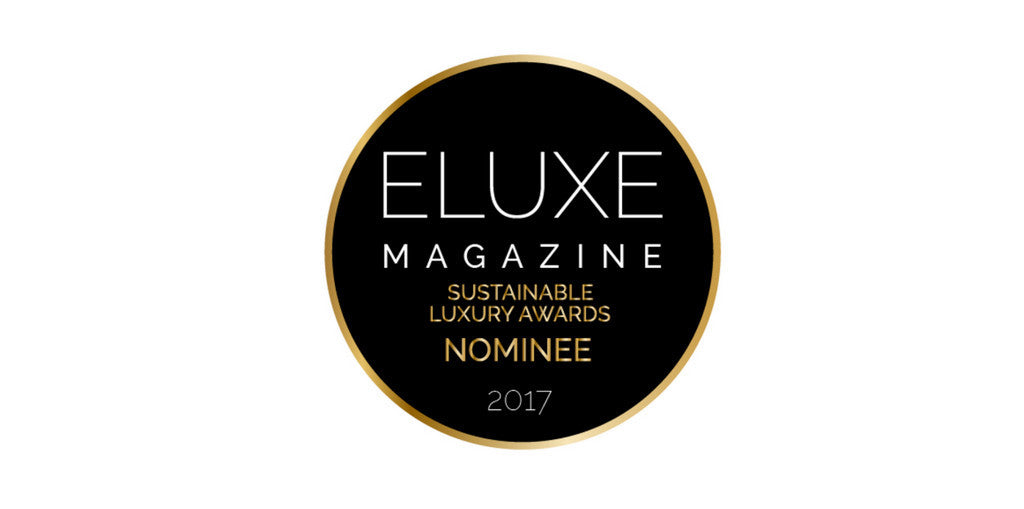 2017 Eluxe Sustainable Award Nominee