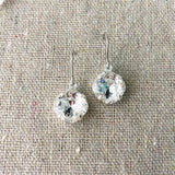 Medium Cushion Danging Earrings