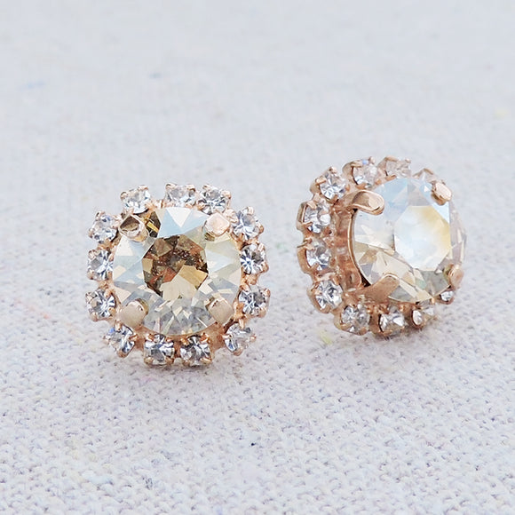 Diamante Luxe Post Earrings