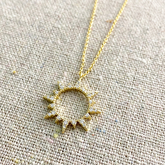 Like Night & Day Necklace • Sun