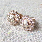 Small Peak Luxe Post Earrings