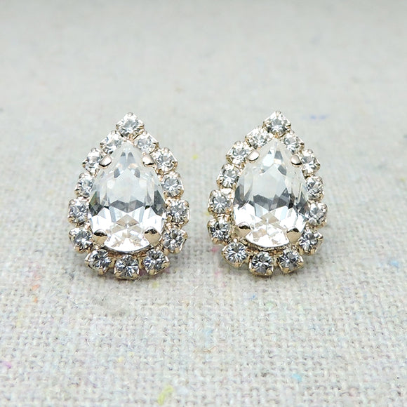 Tiny Taper Luxe Post Earrings