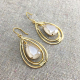 Tonya Taper Double Hoop Earrings