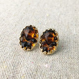 Tortoise Post Earrings