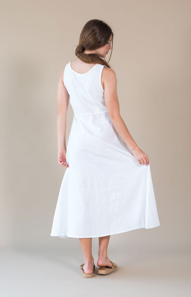 Alice Dress White