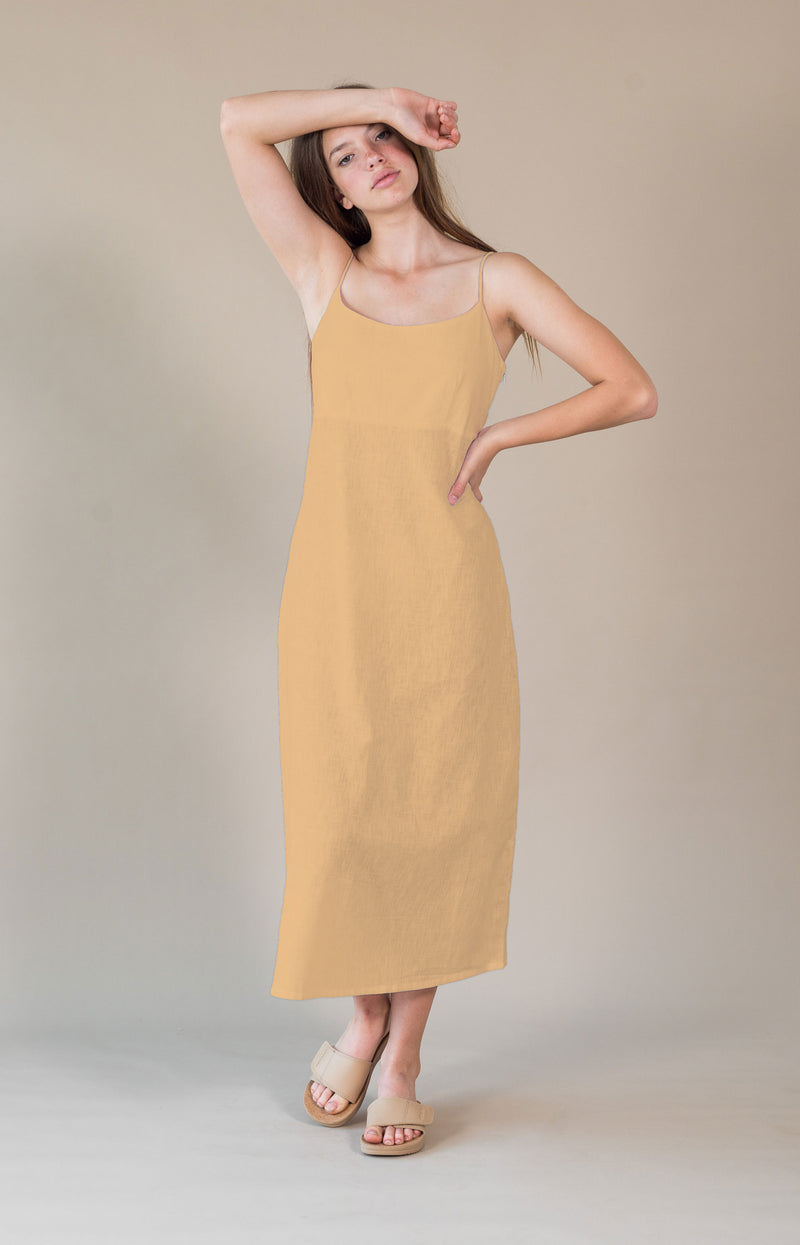 Anouk Dress Buttercup Yellow