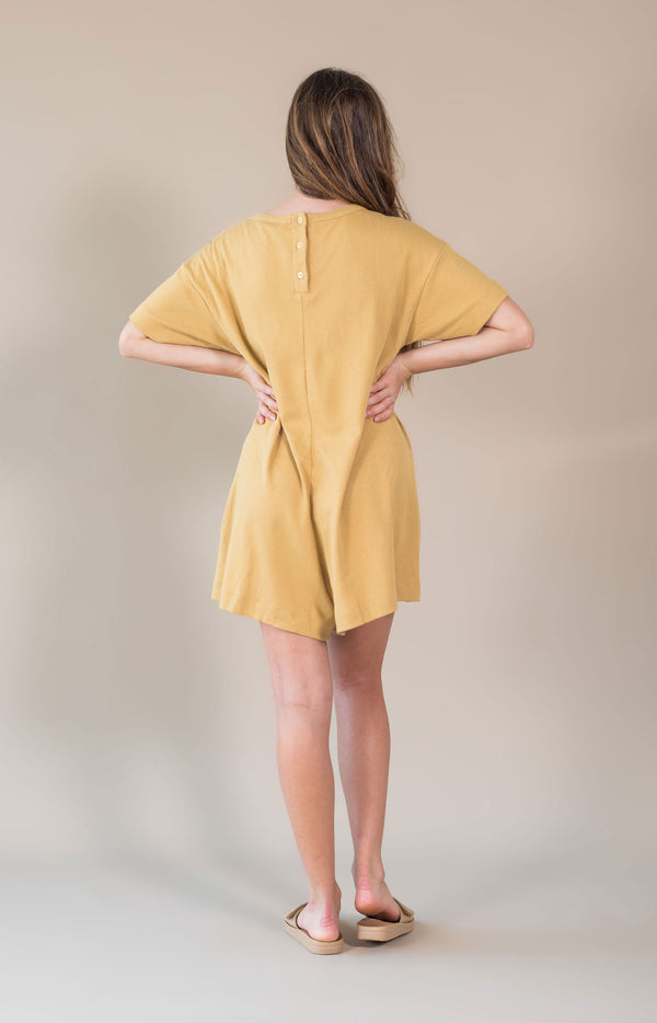 Bronte Playsuit Buttercup Yellow