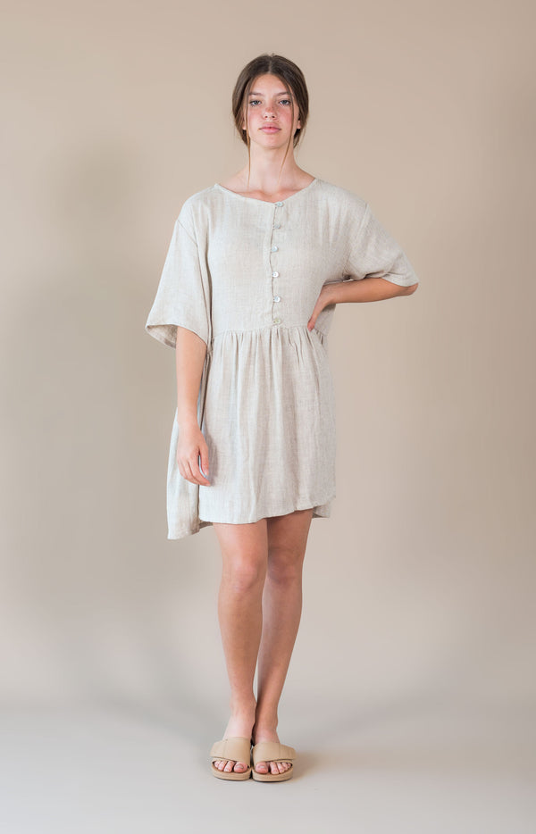 Darcy Dress Natural