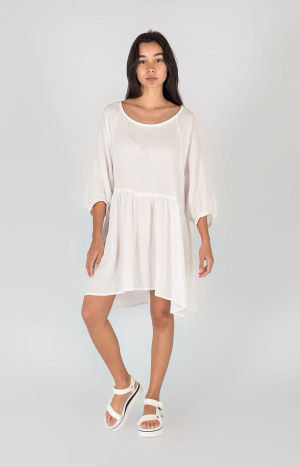 Eden Dress White