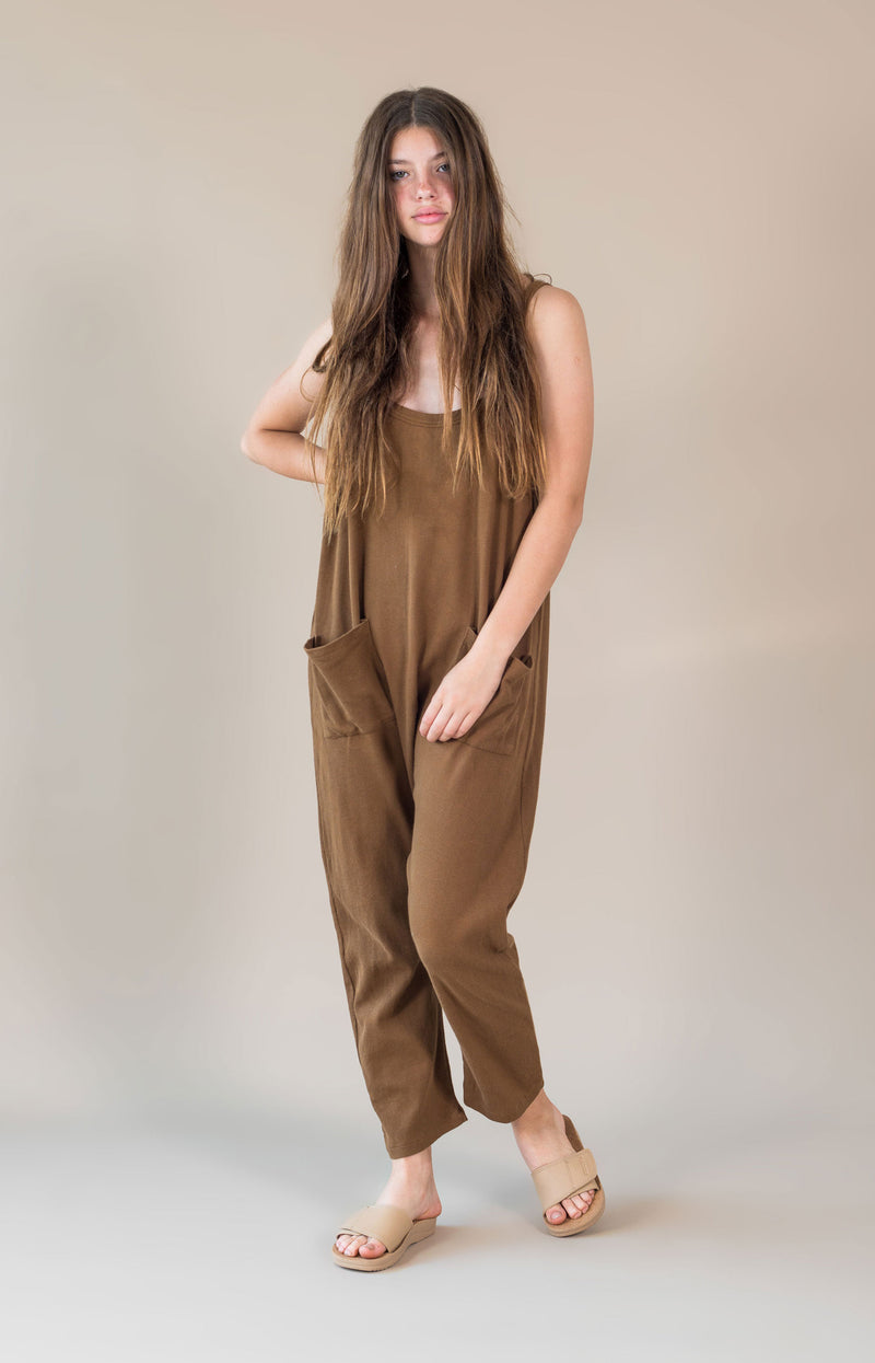 Ella Jumpsuit Chocolate
