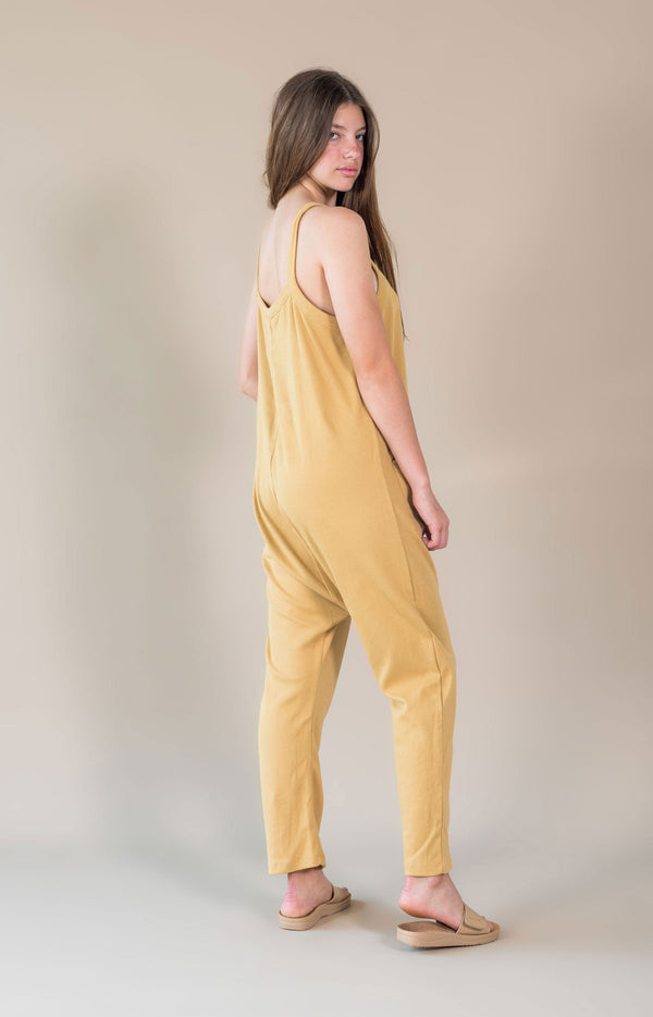 Ella Jumpsuit Buttercup Yellow