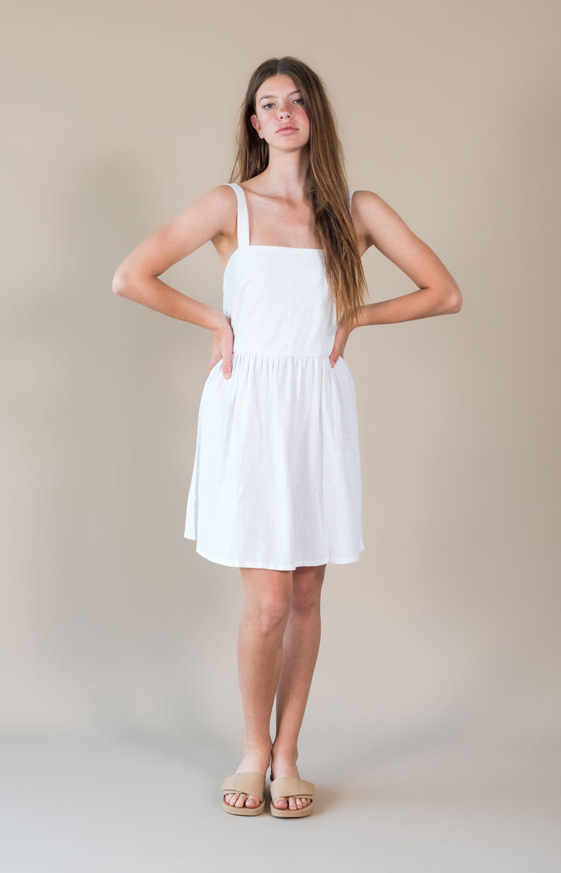 Maisie Dress White