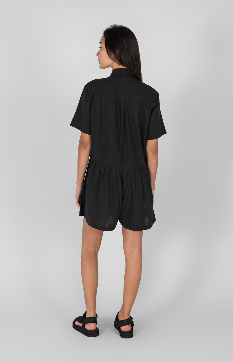 Penny Playsuit Black