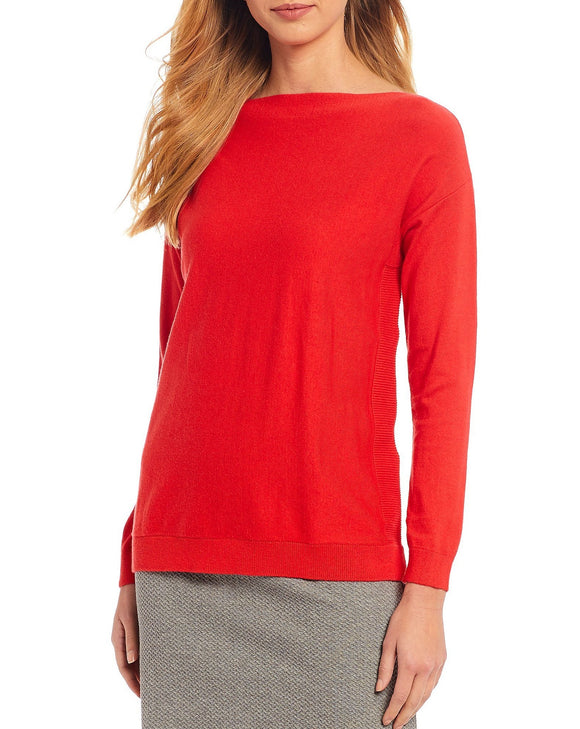 Bess Sweater in Red