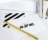 Kate Spade Mr. & Mrs. Thank You Notes