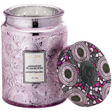 Japonica Japanese Plum Bloom Large Glass Jar Candle