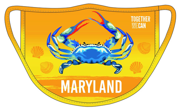 Maryland Triple Layer Protection Face Mask - Pack of 2