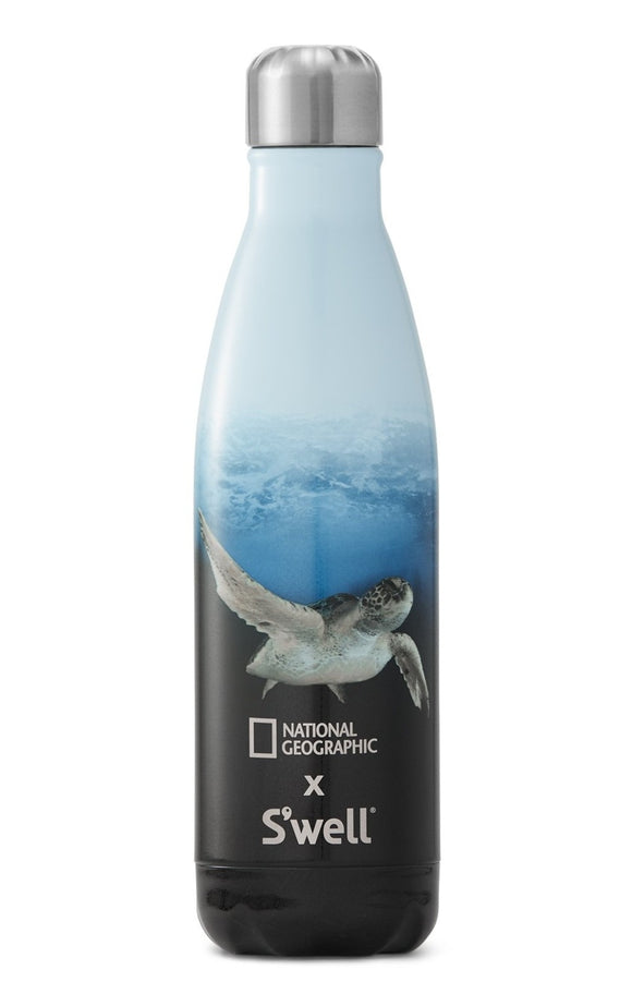 National Geographic: Sea Turtle Swell Water Bottle