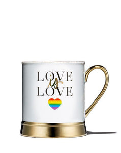 Love Is Love Porcelain Mug