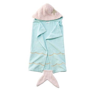 Mermaid Baby Hooded Towel