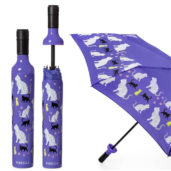 Purrfection Bottle Umbrella