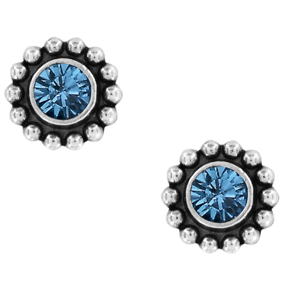 Twinkle Mini Post Earrings in Sapphire