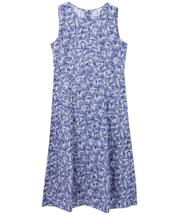 Chrissie Blue Shells Dress