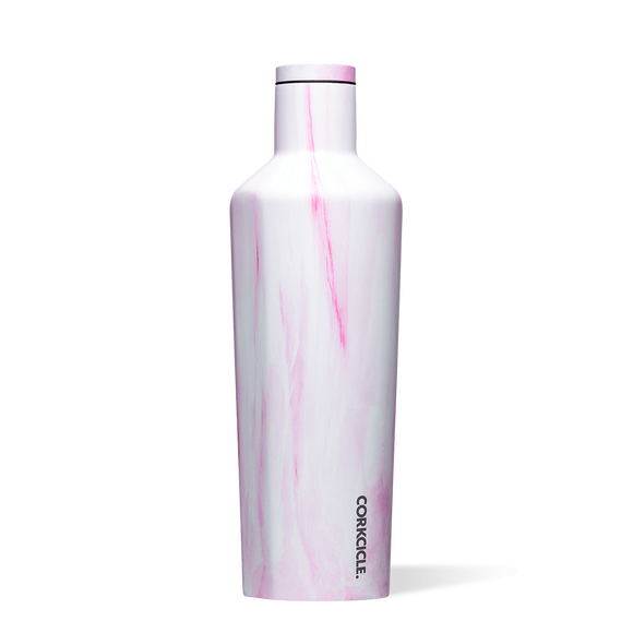 Pink Marble Canteen 25 oz