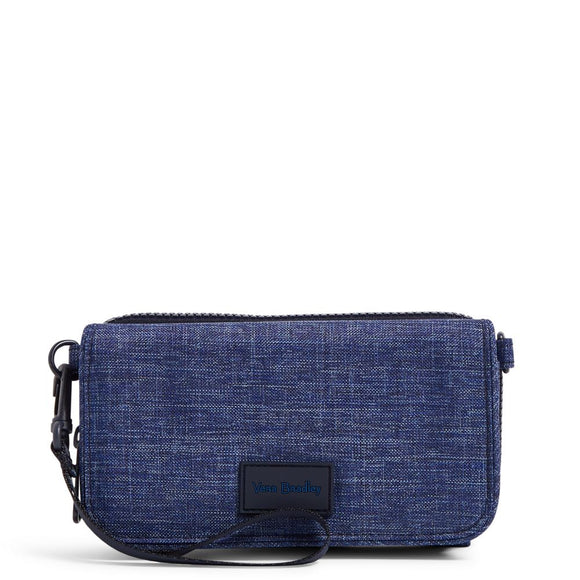 ReActive RFID Compact Crossbody in Dark Blue