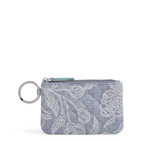 Iconic Zip ID Case in Park Lace