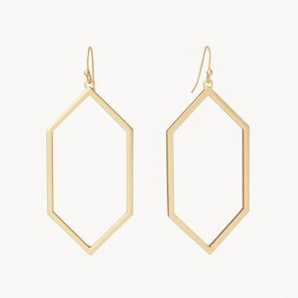 Rhett Earrings in Gold
