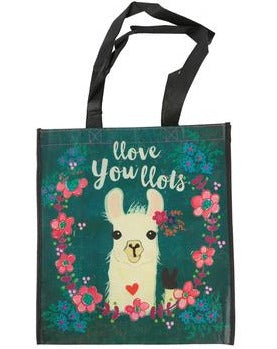 Llove You Llots Llama Extra Large Gift Bag