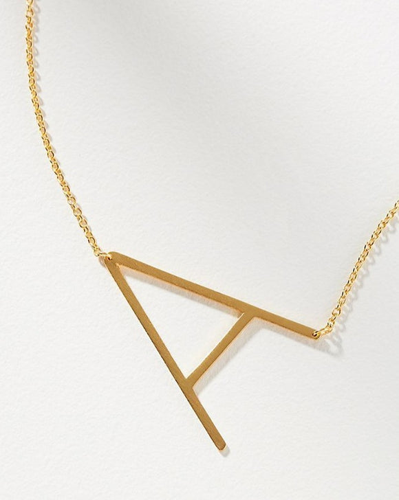 A Letter Necklace