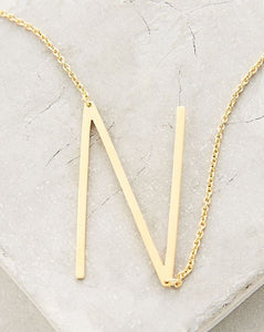 N Letter Necklace