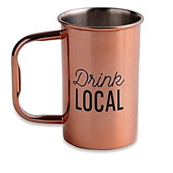 Drink Local Copper Mug