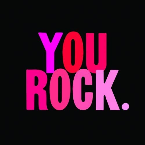 You Rock. Card