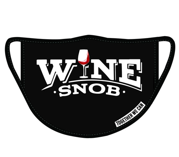 Wine Snob Triple Layer Protection Face Mask - Pack of 2
