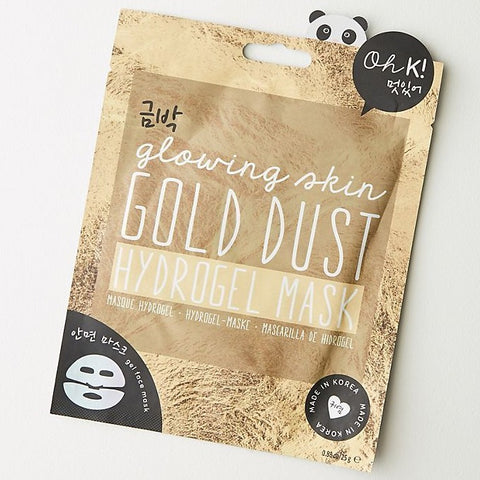 Glowing Skin Gold Dust Hydrogel Mask