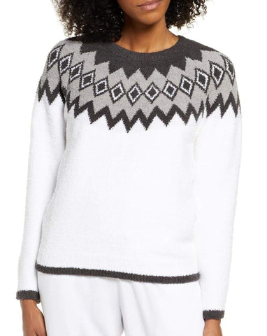 The CozyChic Women's Nordic Pullover - 2 Left in Small