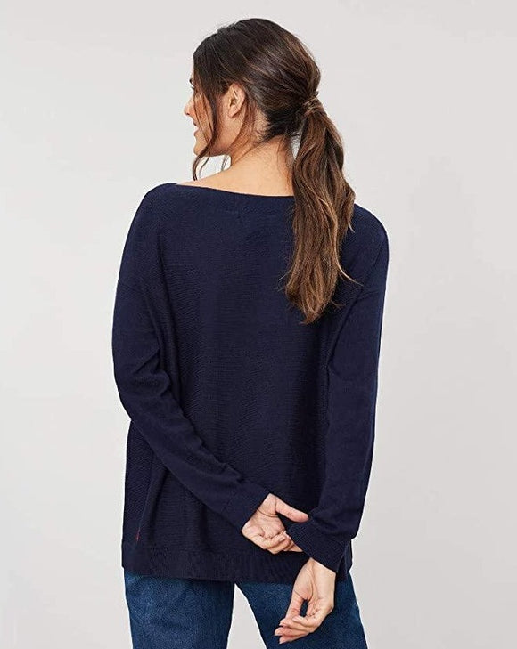 Bess Sweater in Navy