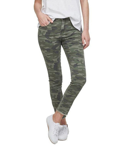Green Camo Rory Denim Jeans