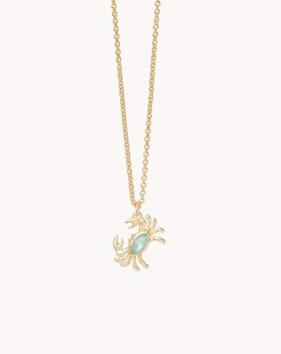Sea La Vie Happy Dance Crab Necklace