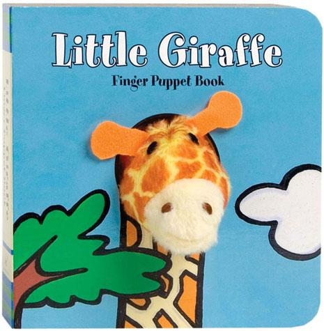 Little Giraffe: Finger Puppet Book